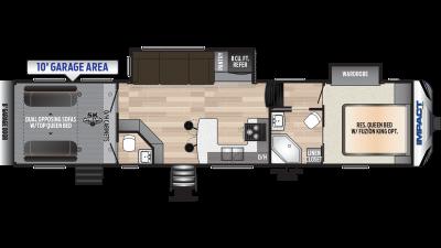 2019 Impact 359 Floor Plan Img