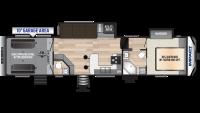 2019 Impact 359 Floor Plan