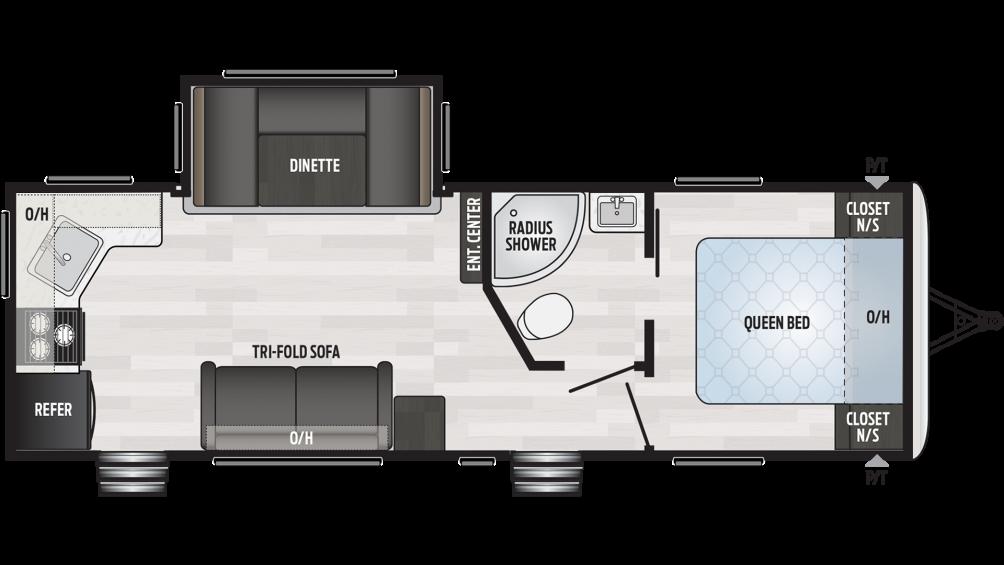 2019 Springdale 262RK Floor Plan Img