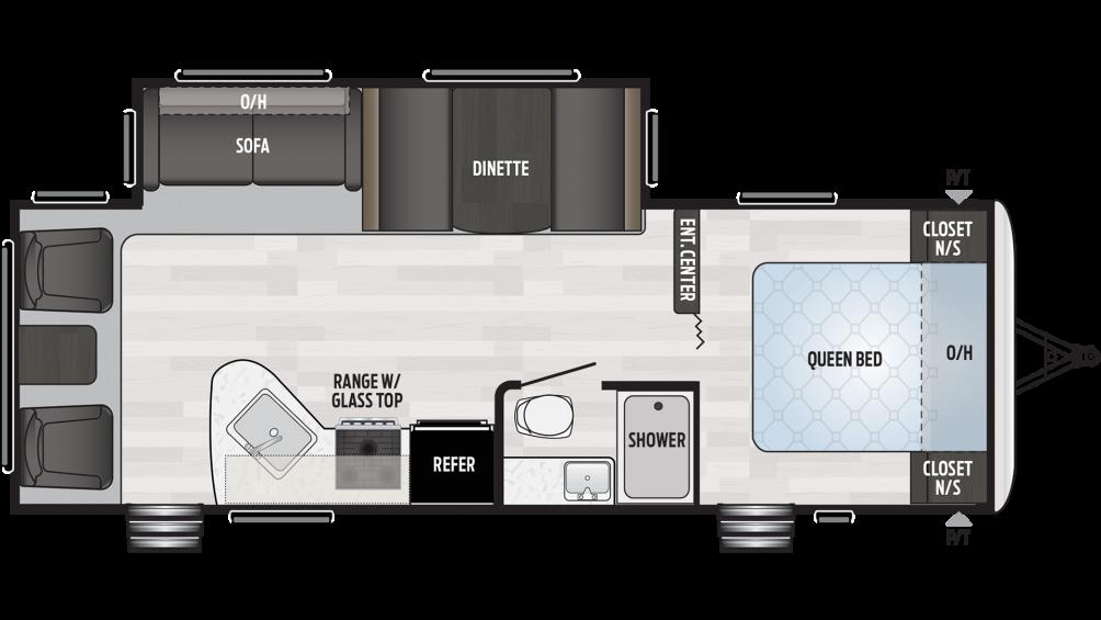 2019 Springdale 266RL Floor Plan Img