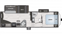 2019 Springdale 272RE Floor Plan