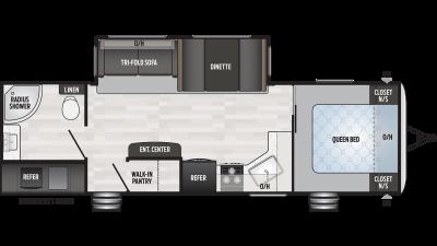 2019 Springdale 274RB Floor Plan Img
