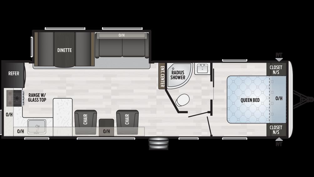 2019 Springdale 293RK Floor Plan Img