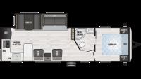 2019 Springdale 293RK Floor Plan