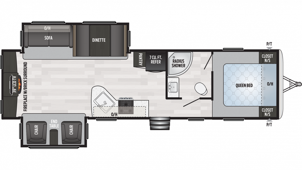 2019 Springdale 311RE Floor Plan Img