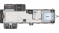 2019 Springdale 311RE Floor Plan