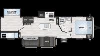 2019 Springdale 332RB Floor Plan