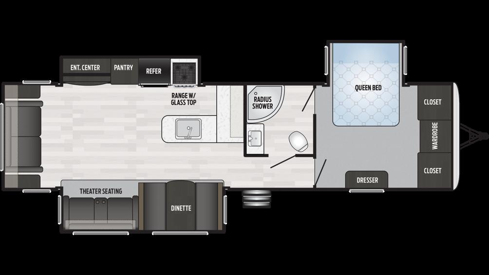2019 Springdale 333RE Floor Plan Img