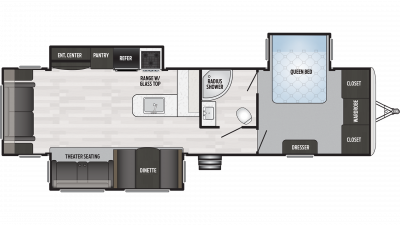 2019 Springdale 333RE Floor Plan Img