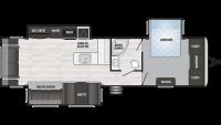 2019 Springdale 333RE Floor Plan