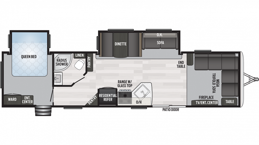 2019 Springdale 38FL Floor Plan Img