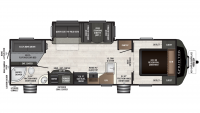 2019 Sprinter Campfire Edition 29DB Floor Plan
