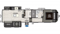 2019 Sprinter Campfire Edition 31FWMB Floor Plan