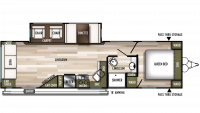 2019 Wildwood 28RLSS Floor Plan