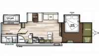 2019 Wildwood 33TS Floor Plan