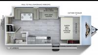 2019 Wildwood FSX 170SS Floor Plan