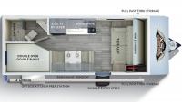 2019 Wildwood FSX 179DBK Floor Plan
