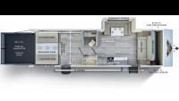 2019 Wildwood FSX 280RT Floor Plan