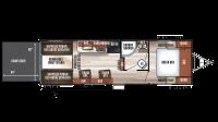 2019 Wolf Pack 24GOLD14 Floor Plan