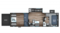 2019 Wolf Pack 365PACK16 Floor Plan