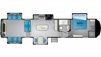 2020 Bighorn 3980RRD Floor Plan