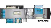 2020 Bighorn Traveler 32RS Floor Plan