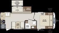 2020 Bullet 248RKS Floor Plan