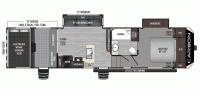 2020 Carbon 337 Floor Plan