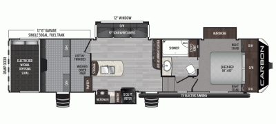 2020 Carbon 347 Floor Plan Img