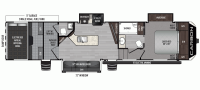 2020 Carbon 357 Floor Plan