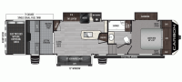 2020 Carbon 364 Floor Plan