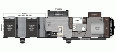 2020 Carbon 387 Floor Plan Img