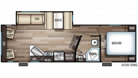 2020 Cherokee 264RL Floor Plan