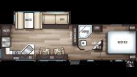 2020 Cherokee 274RK Floor Plan