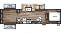 2020 Cherokee 304BS Floor Plan