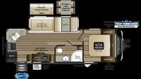 2020 Cougar Half Ton 26RKS Floor Plan