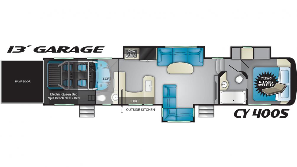 Cyclone 4005 Floor Plan - 2020