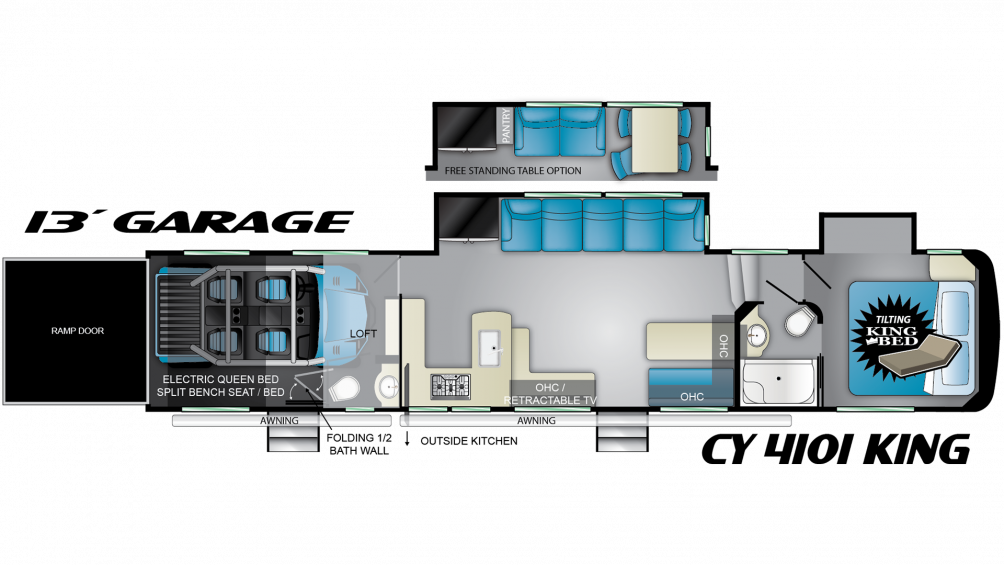 2020 Cyclone 4101 Floor Plan Img