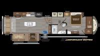 2020 Montana 3720RL Floor Plan