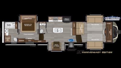2020 Montana 3760FL Floor Plan Img