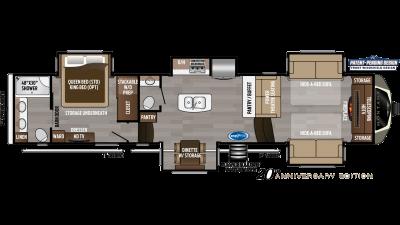 2020 Montana 3761FL Floor Plan Img