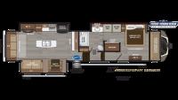 2020 Montana 3810MS Floor Plan