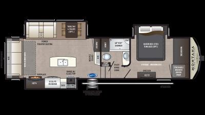 2020 Montana High Country 305RL Floor Plan Img