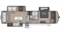 2020 Montana High Country 305RL Floor Plan
