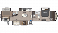 2020 Montana High Country 364BH Floor Plan