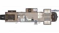 2020 Montana High Country 380TH Floor Plan