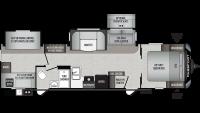 2020 Passport GT Series 3221BH Floor Plan