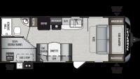 2020 Passport SL Series 239ML Floor Plan