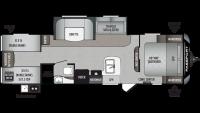 2020 Passport SL Series 292BH Floor Plan