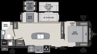 2020 Premier 26RBPR Floor Plan
